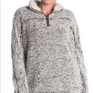 Thread & Supply Lazy Sunday Sherpa in Charcoal S